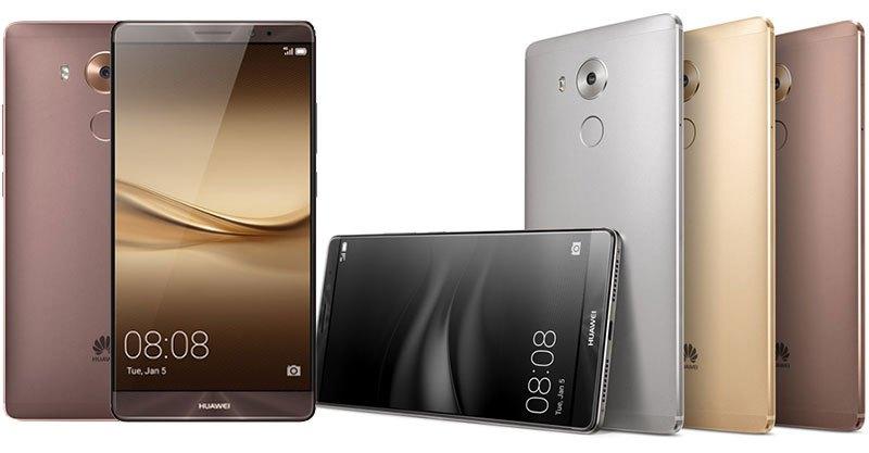 TECNOLOGÍA  | HUAWEI LANZA SU NUEVO SMARTPHONE MATE 8