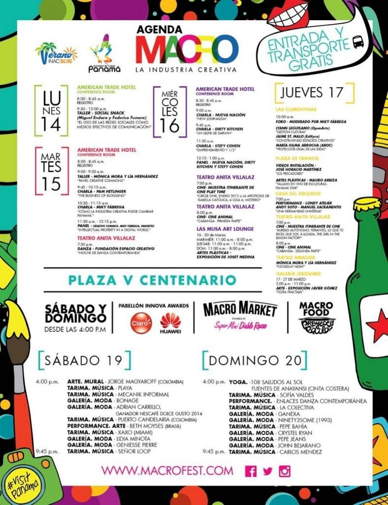 AGENDA  | MACRO FEST. LA INDUSTRIA CREATIVA