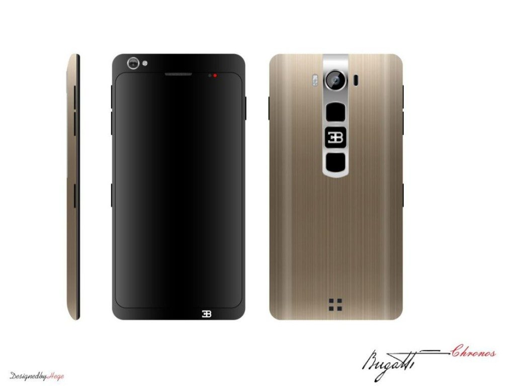 LUXURY  | Conoce el nuevo smartphone de Bugatti